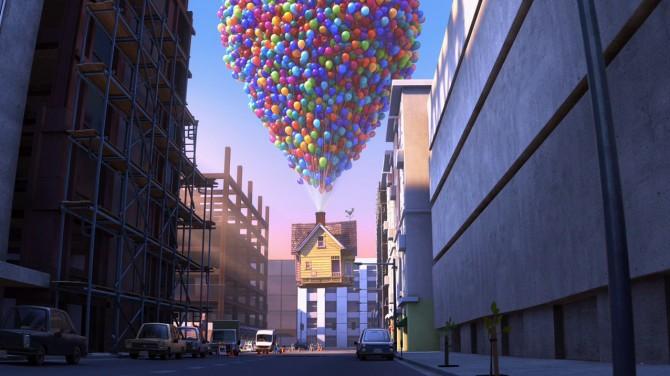 pixar up house model. Pixar#39;s Up Review: A Soaring