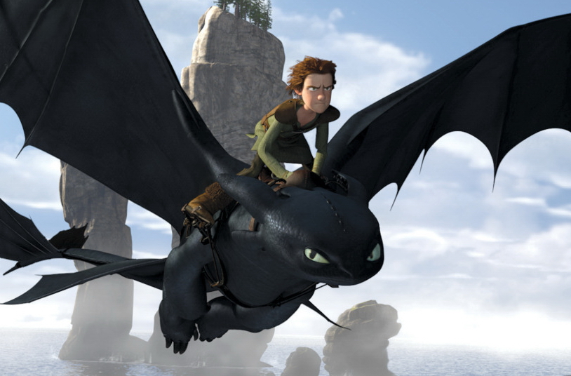how to train your dragon word find